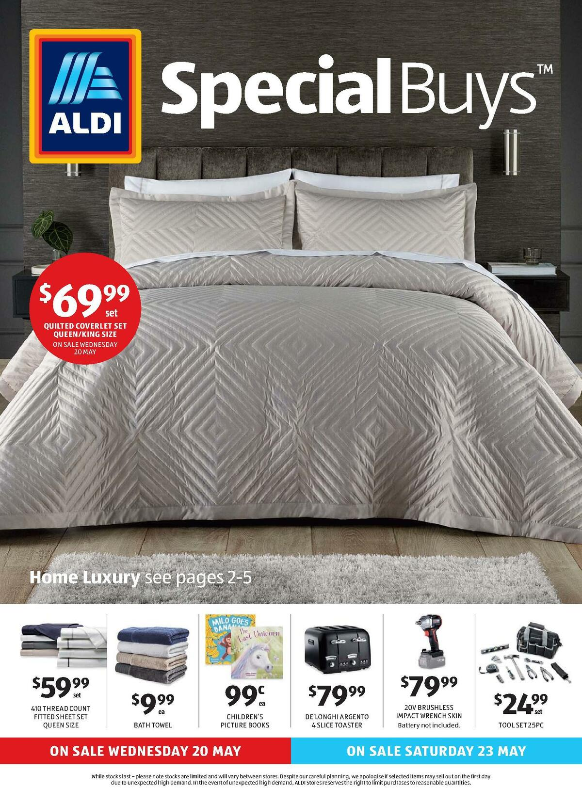 ALDI Catalogues from May 20