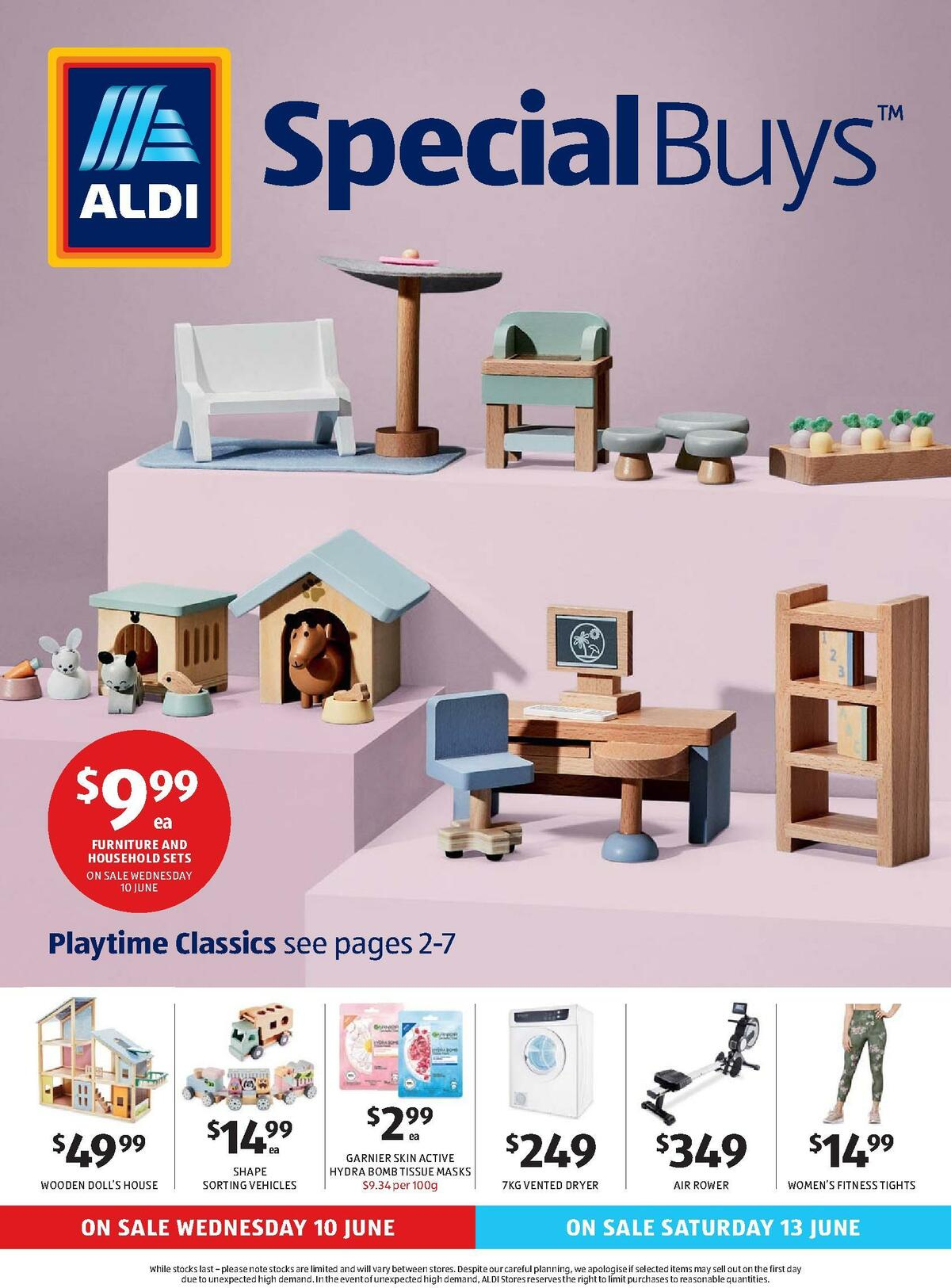 ALDI Catalogues from June 10