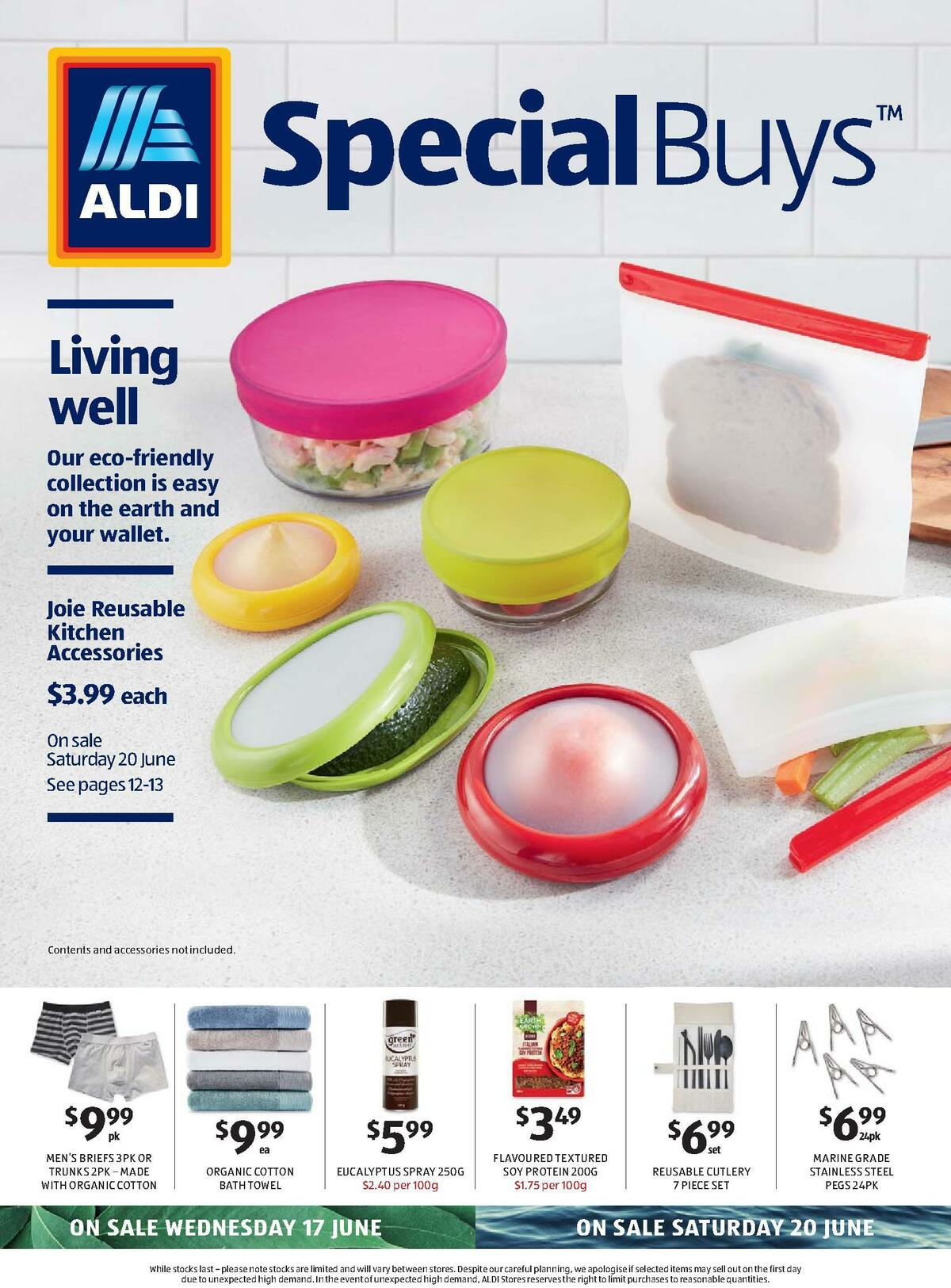 ALDI Catalogues from June 17