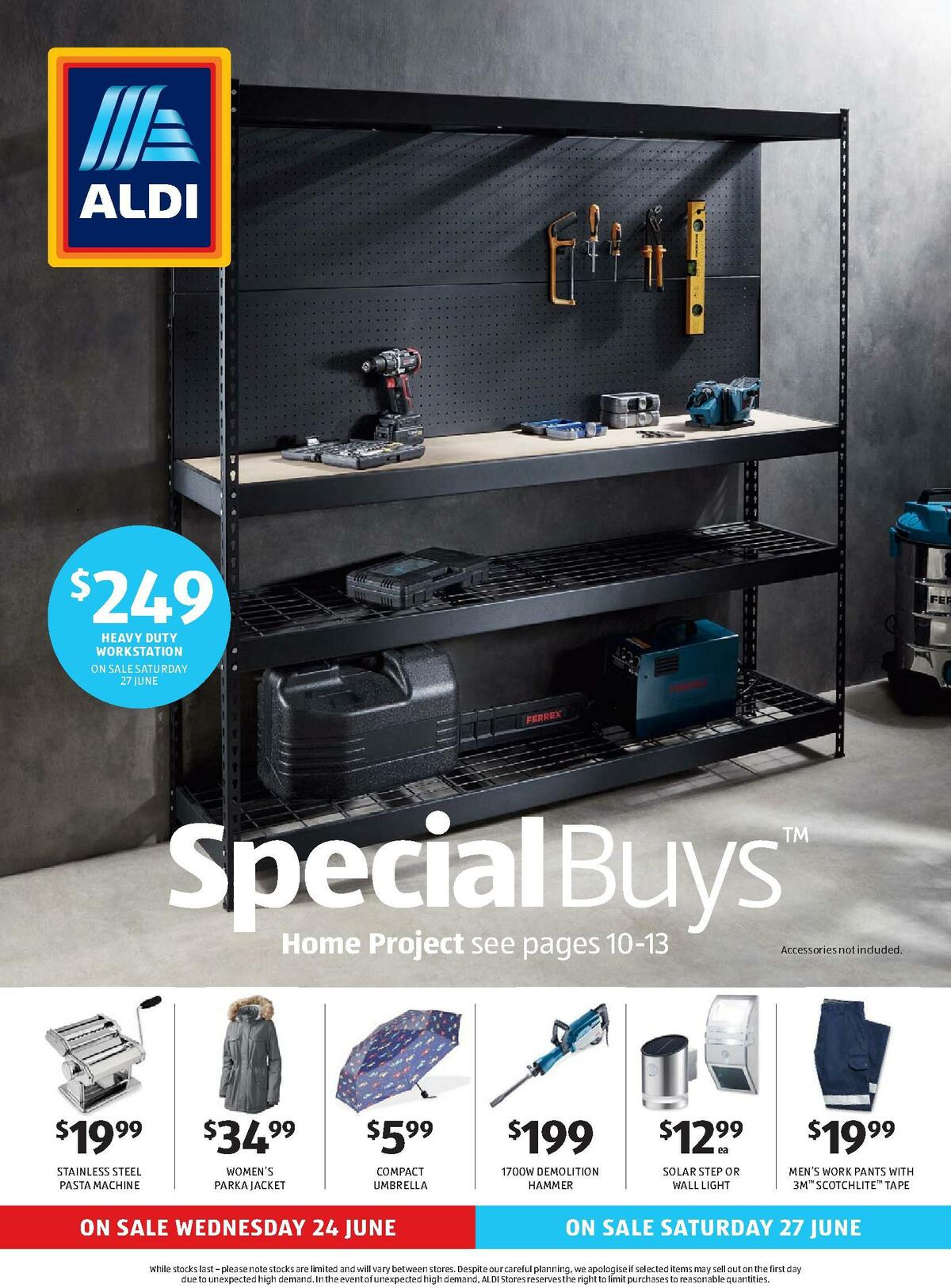 ALDI Catalogues from June 24