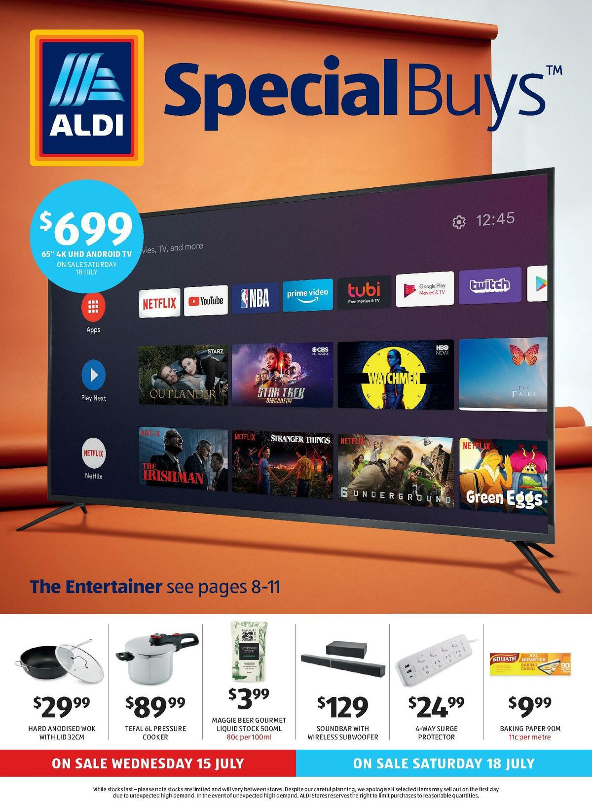ALDI Catalogues from July 15