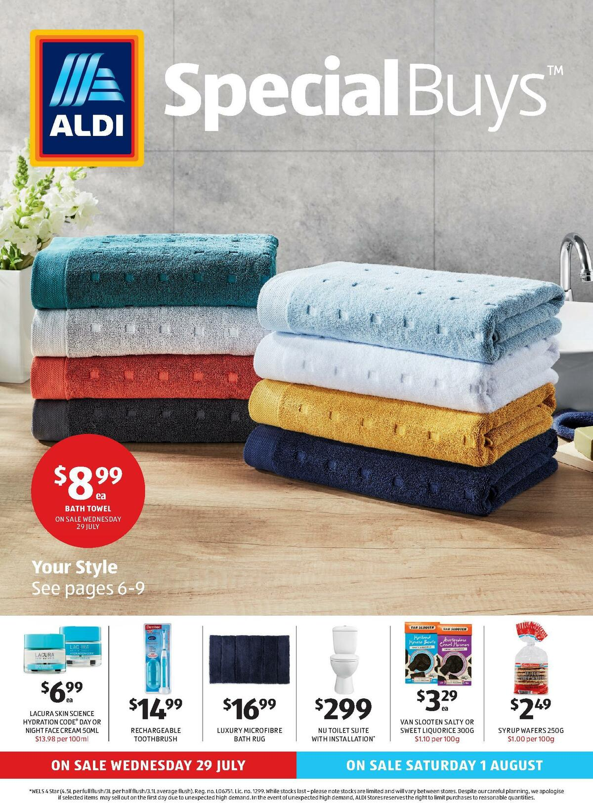 ALDI Catalogues from July 29