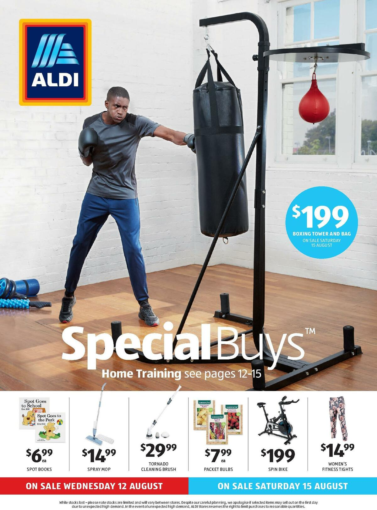 ALDI Catalogues from August 12