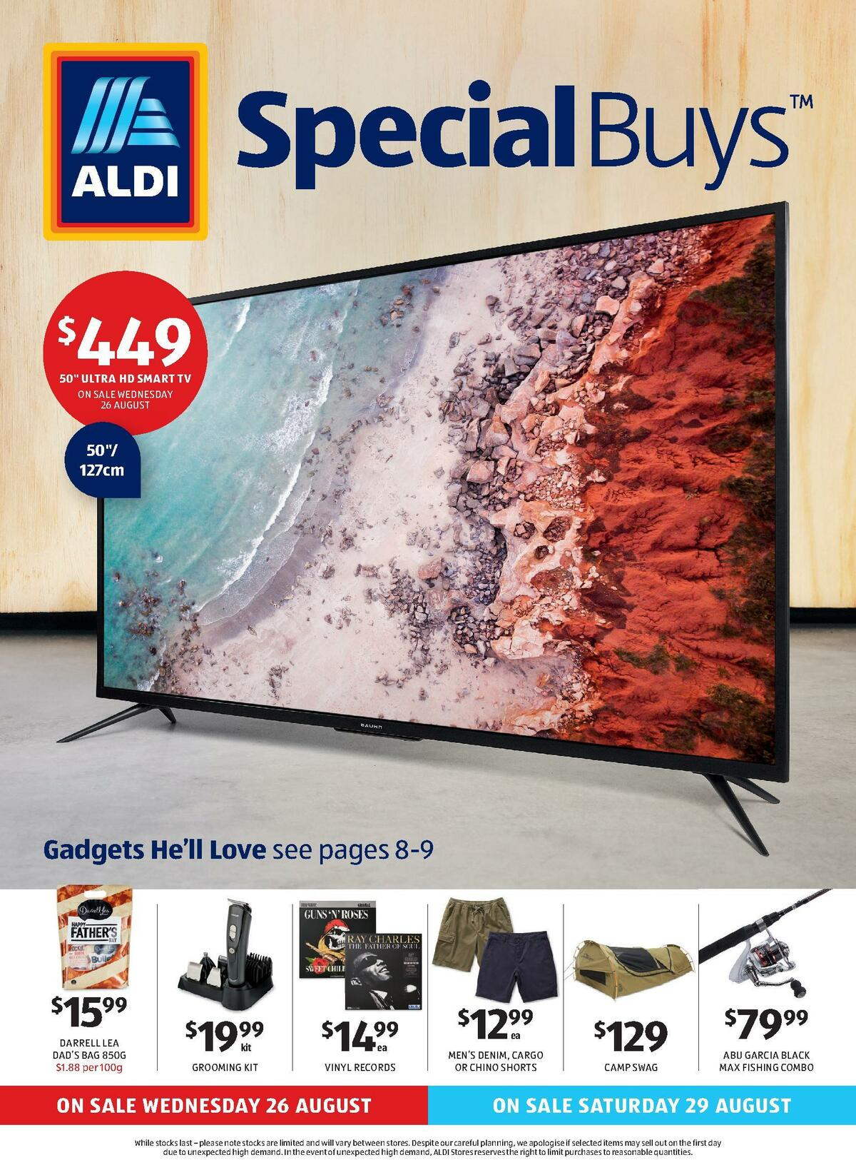 ALDI Catalogues from August 26