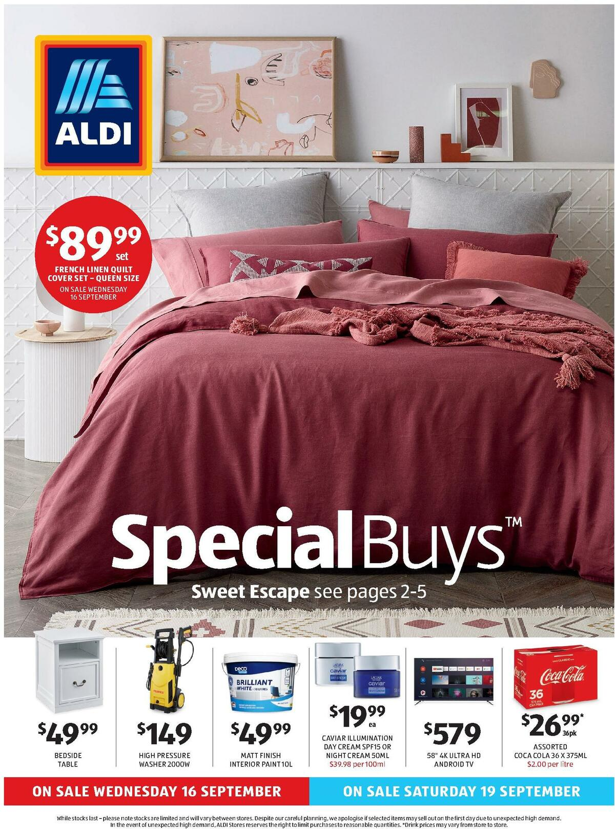ALDI Catalogues from September 16