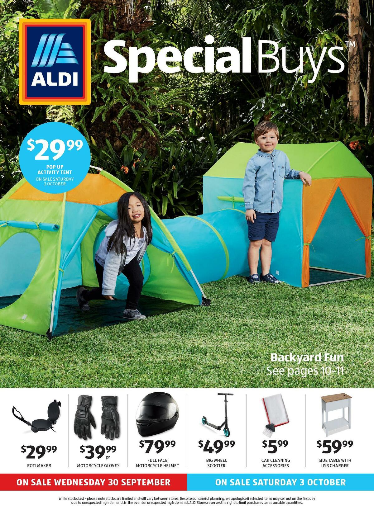 ALDI Catalogues from September 30