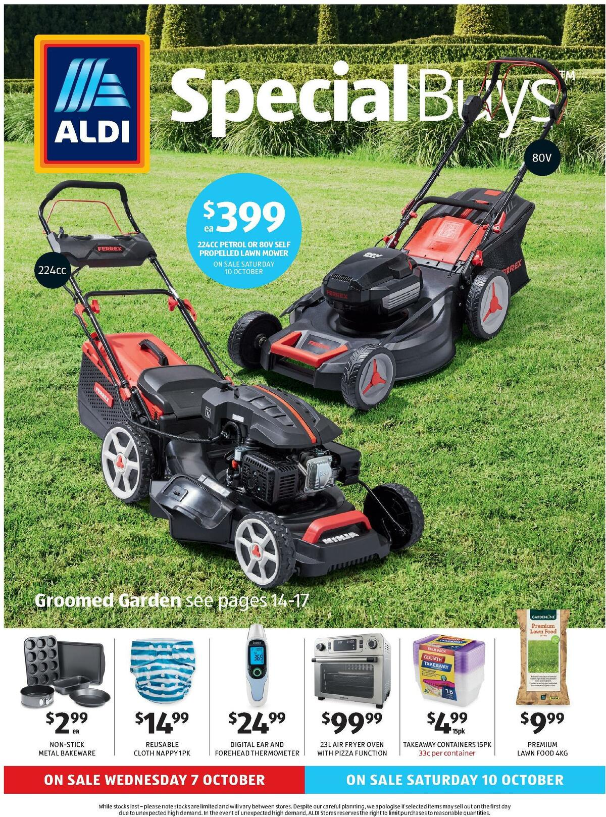 ALDI Catalogues from October 7