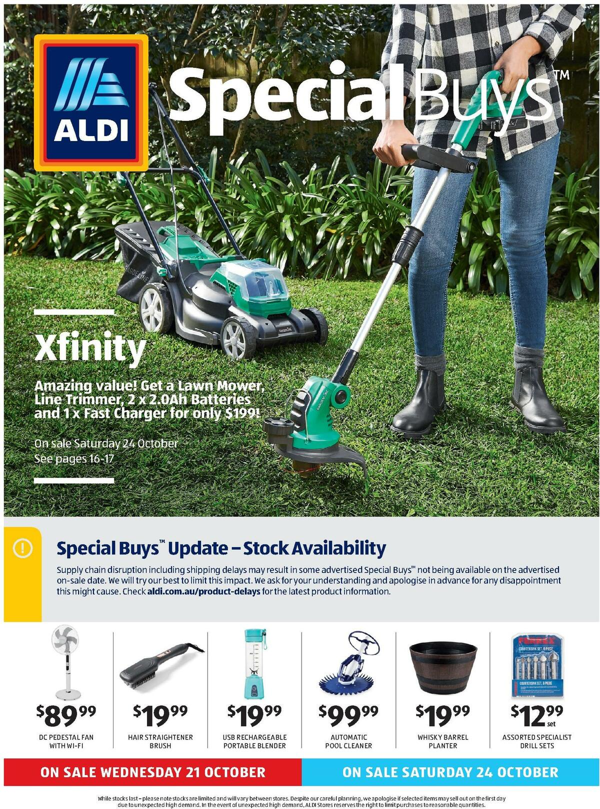 ALDI Catalogues from October 21