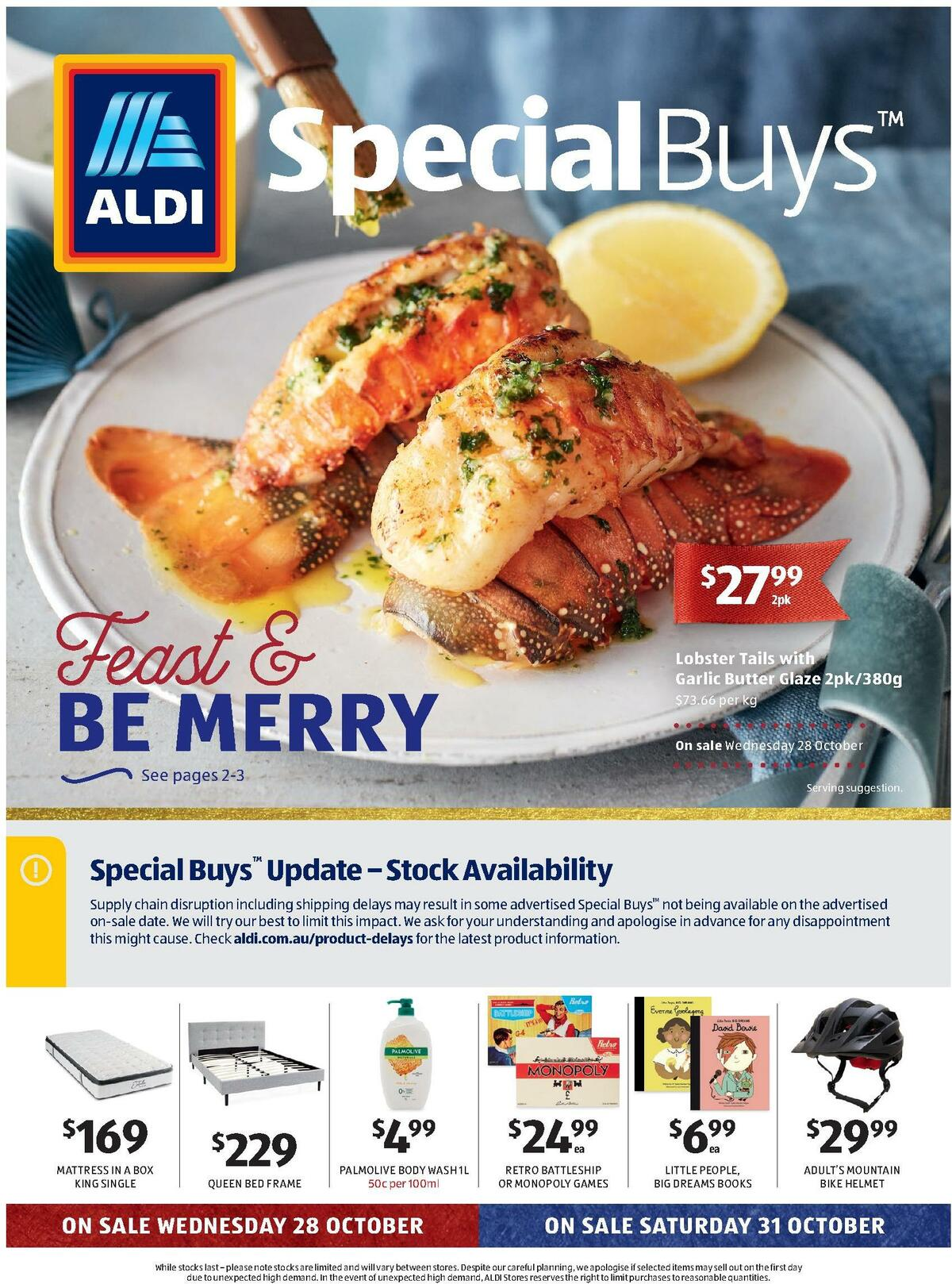ALDI Catalogues from October 28