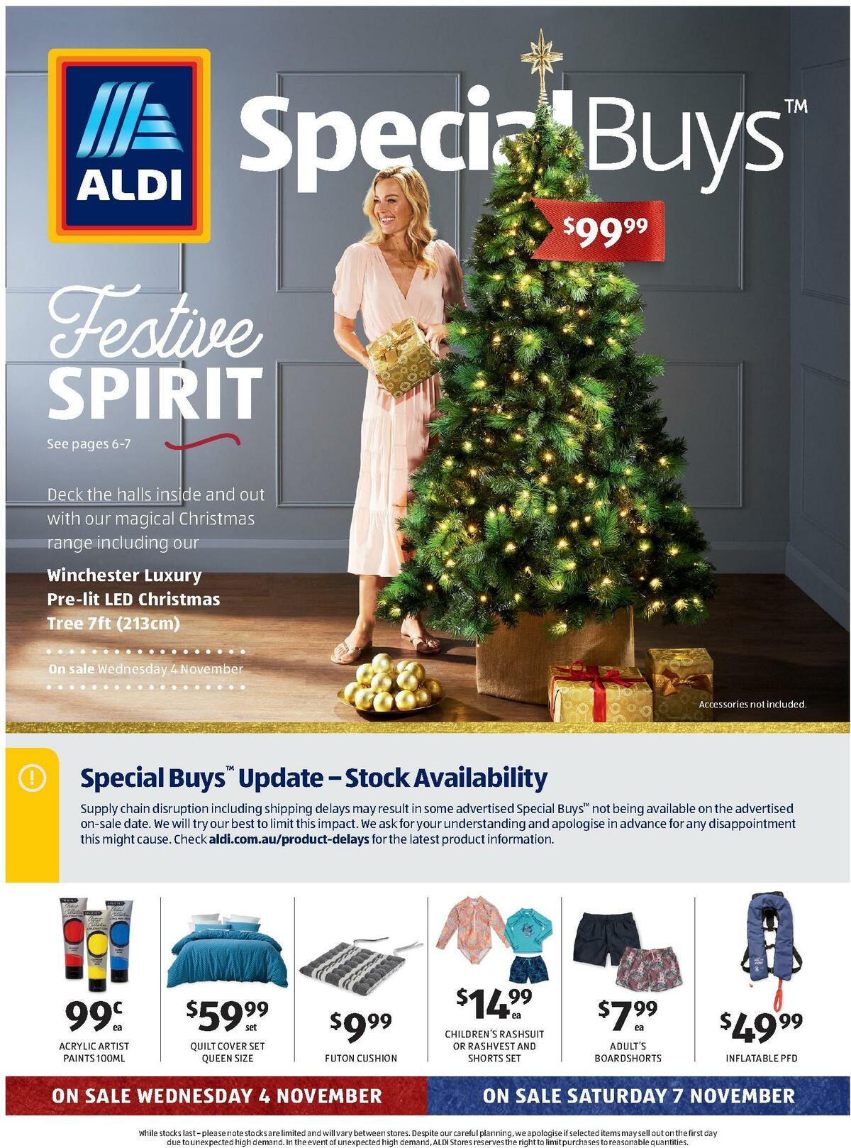 ALDI Catalogues from November 4