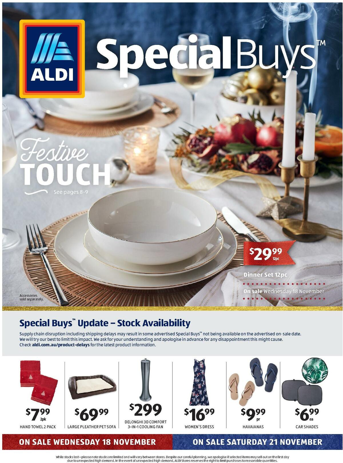 ALDI Catalogues from November 18