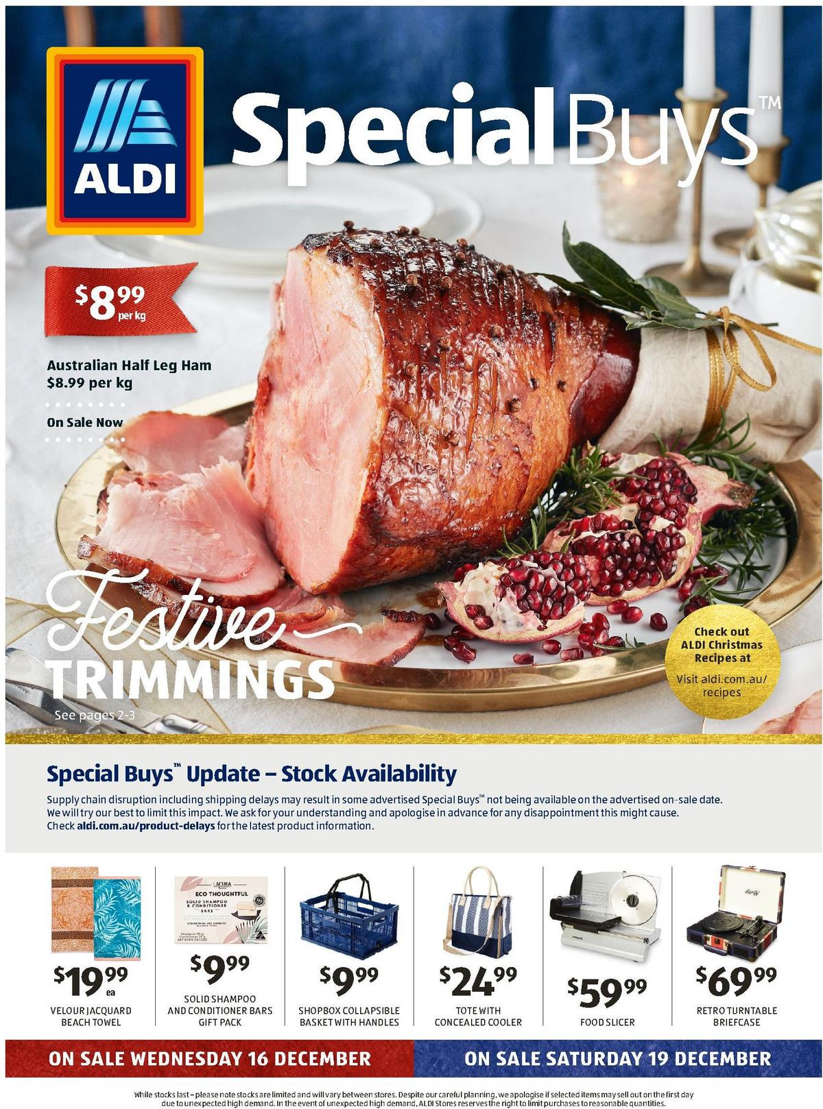 ALDI Catalogues from December 16