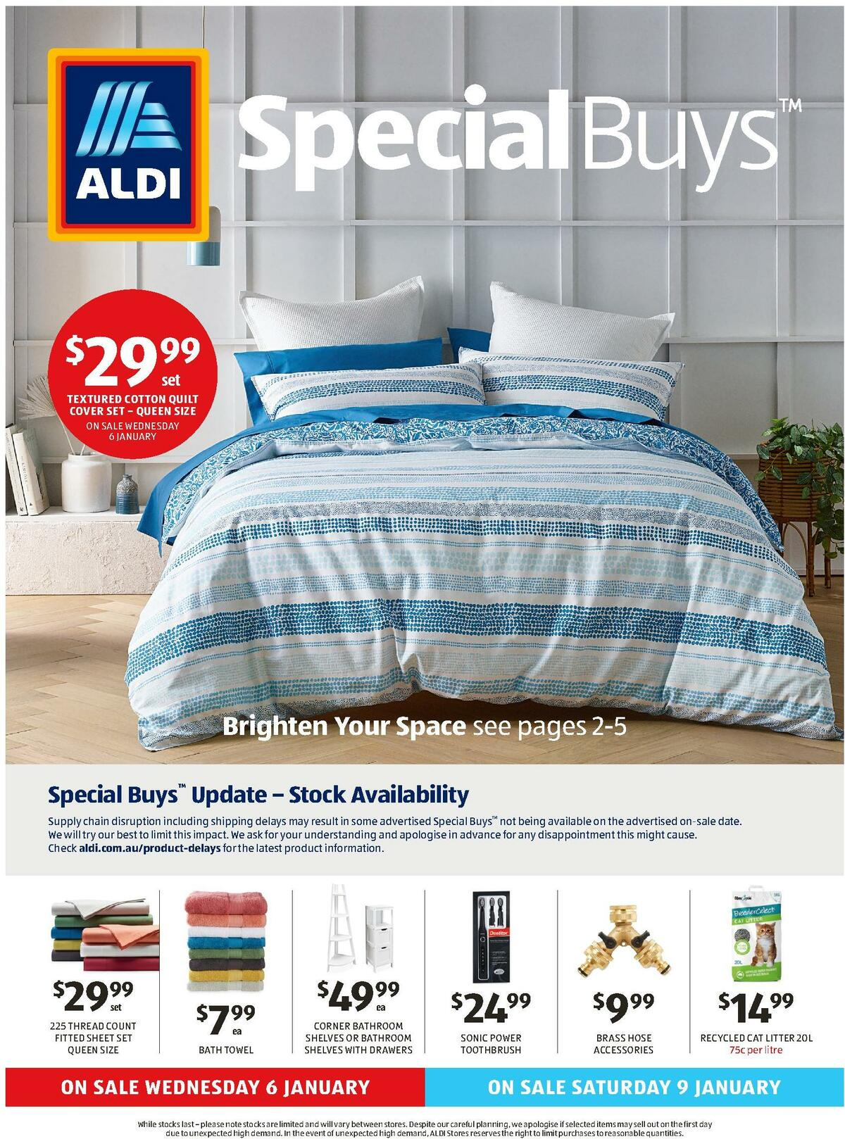 ALDI Catalogues from January 6