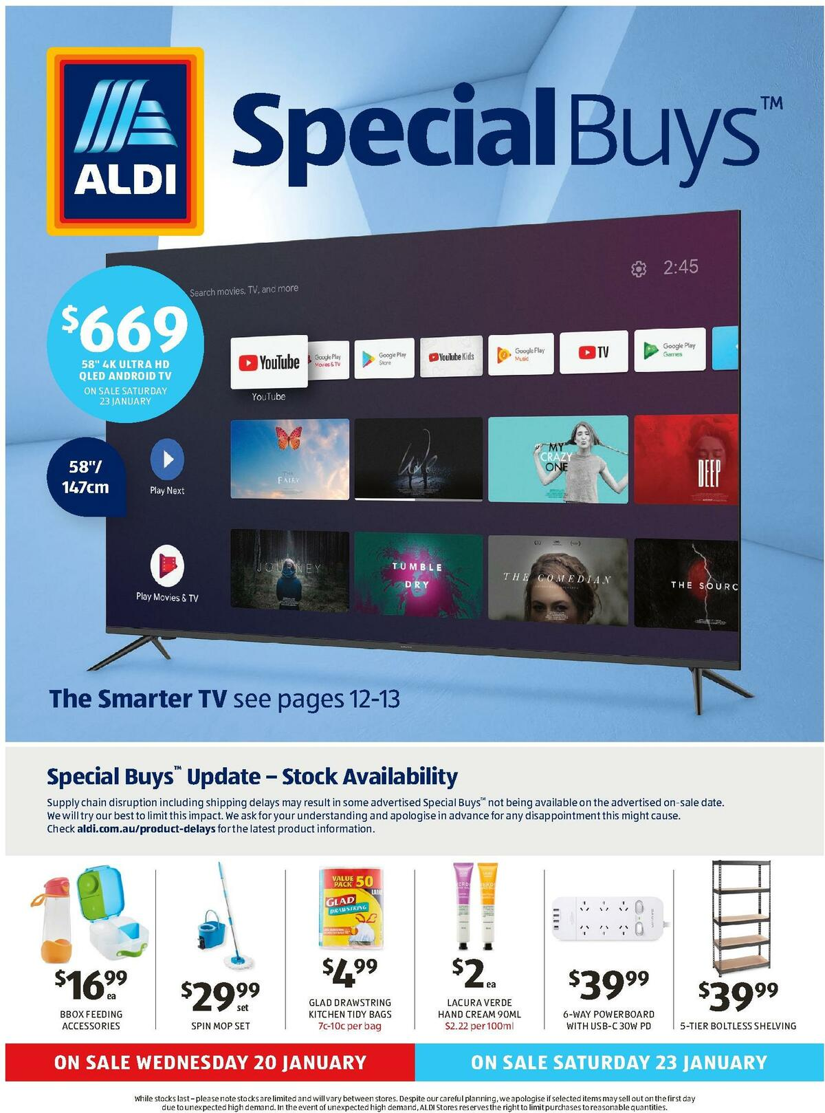 ALDI Catalogues from January 20
