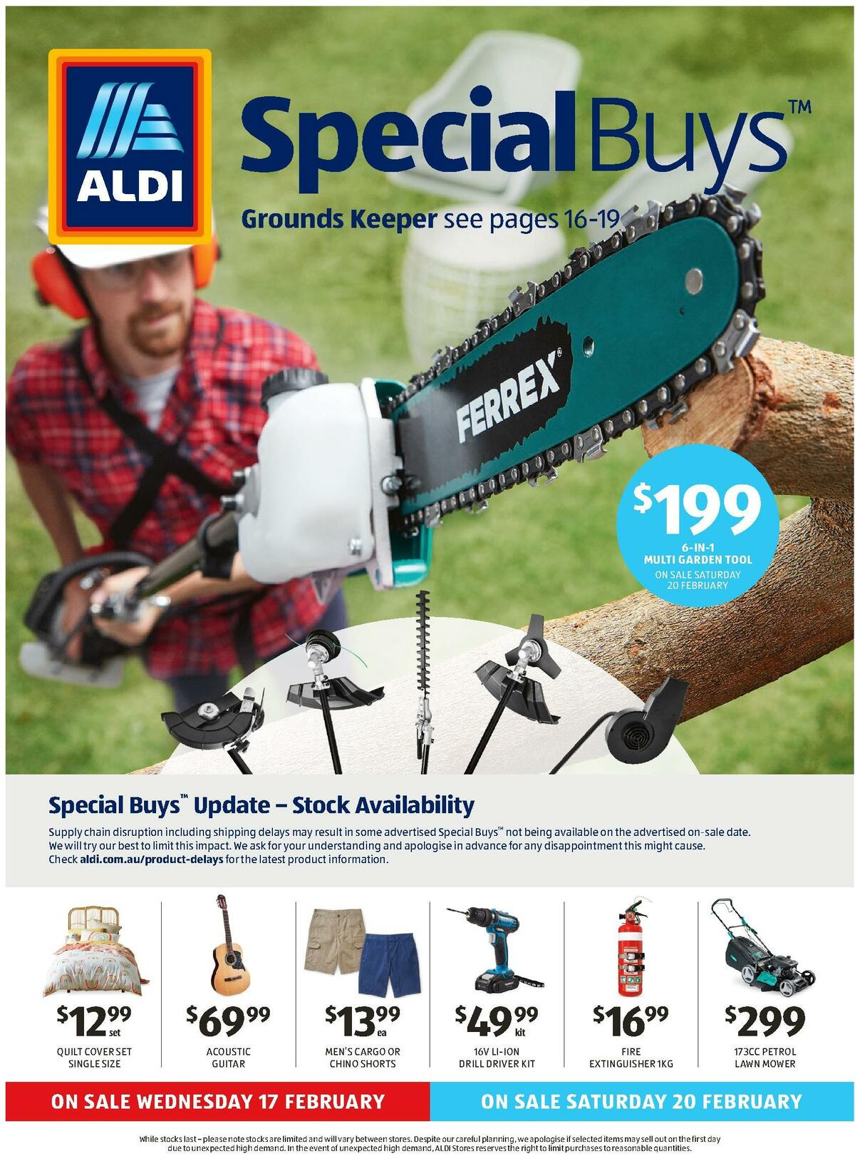 ALDI Catalogues from February 17