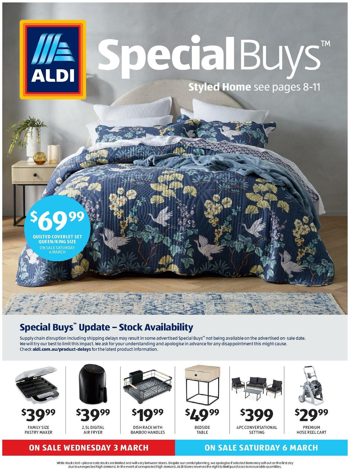 ALDI Catalogues from March 3