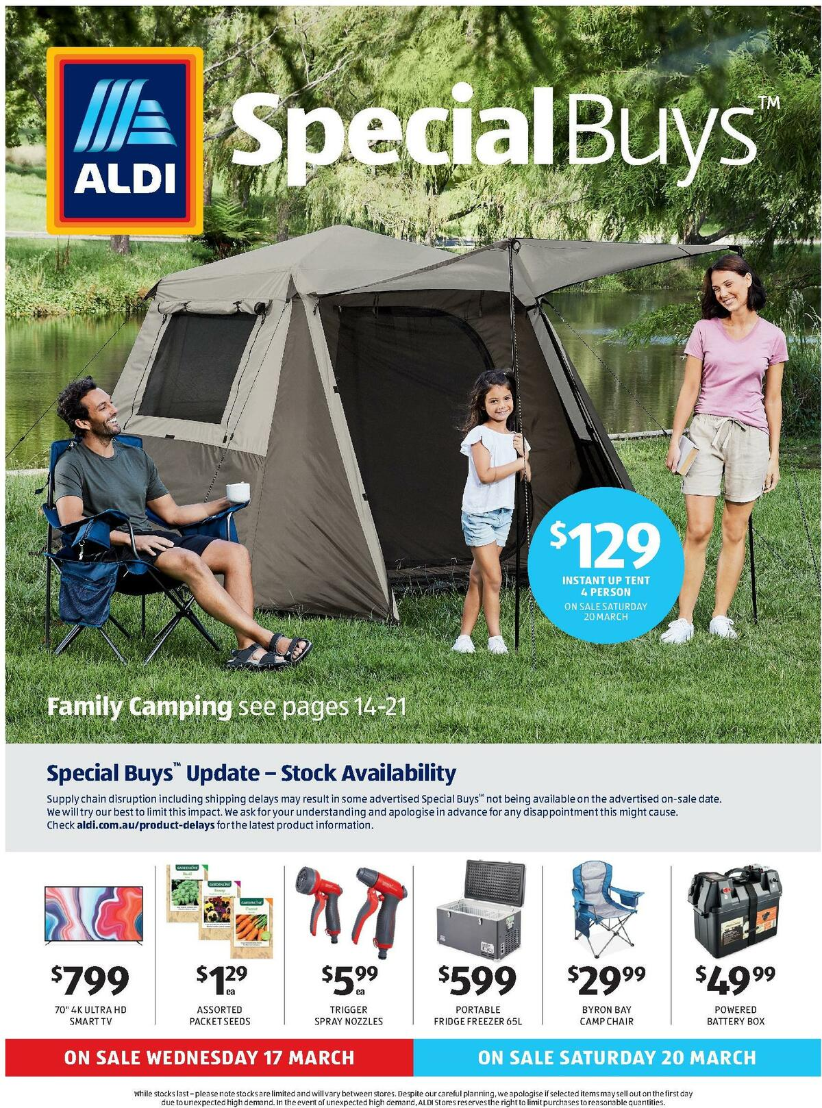 ALDI Catalogues from March 17