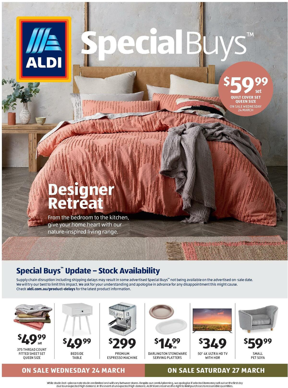ALDI Catalogues from March 24