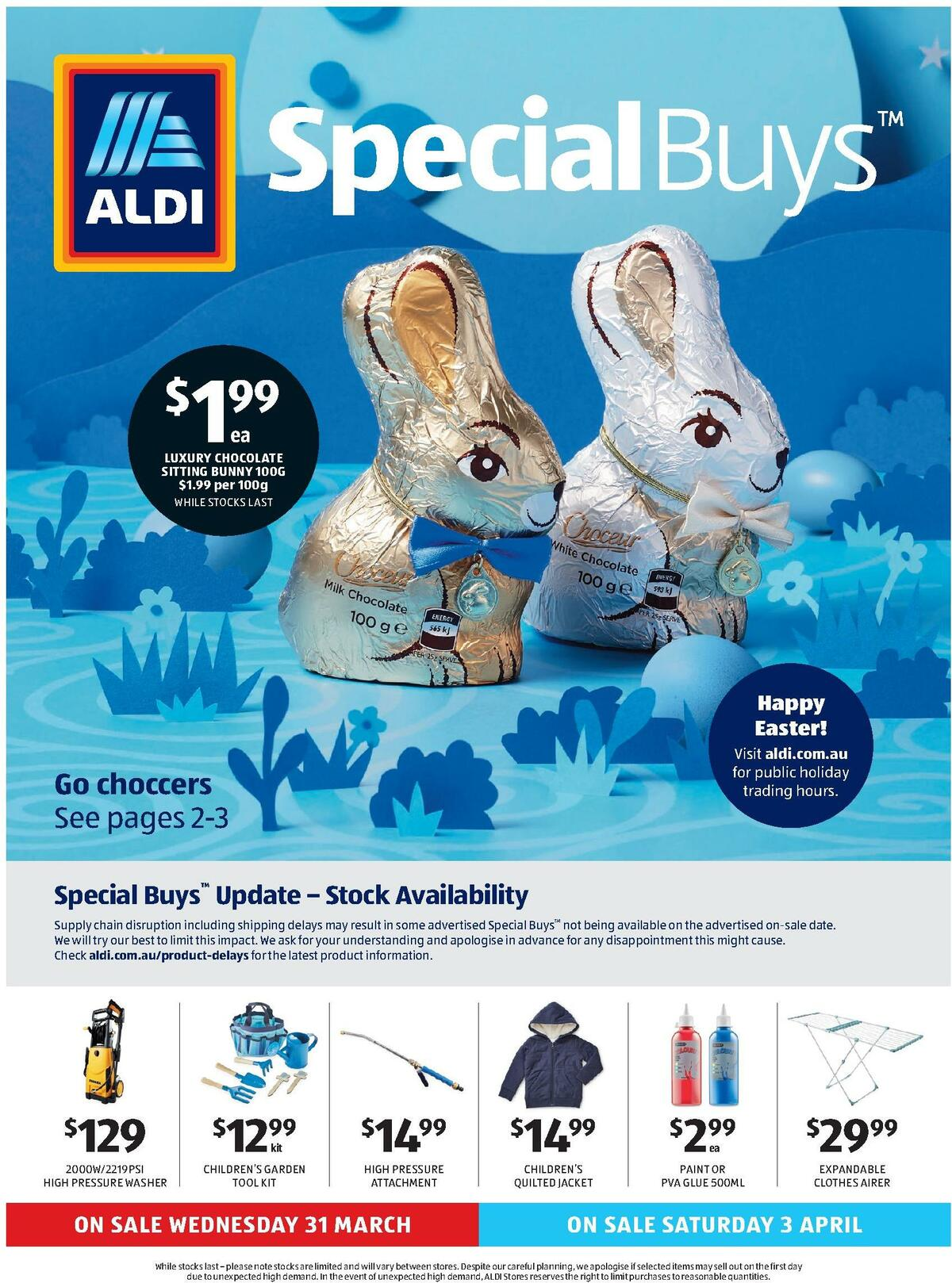 ALDI Catalogues from March 31