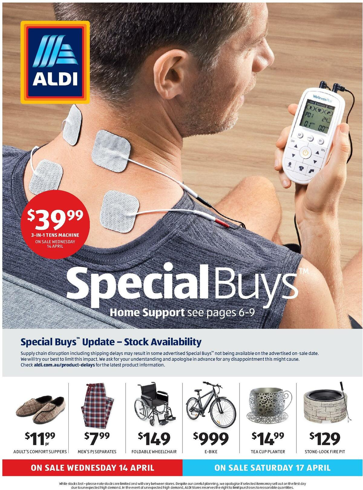 ALDI Catalogues from April 14
