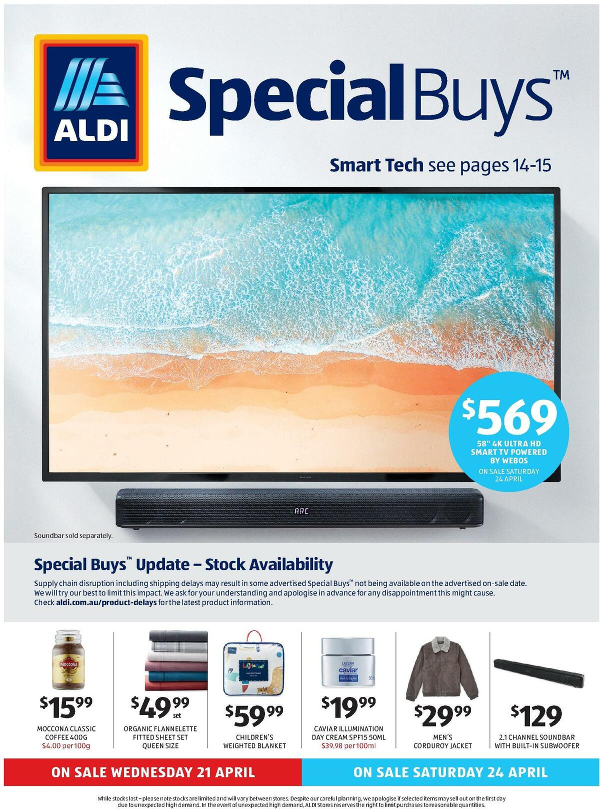 ALDI Catalogues from April 21