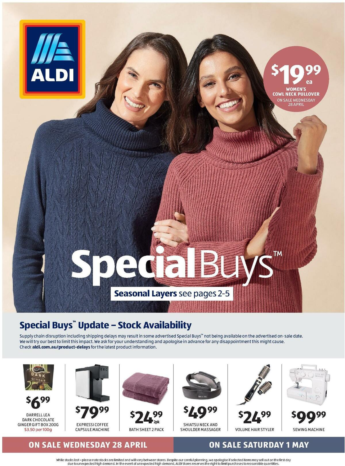 ALDI Catalogues from April 28