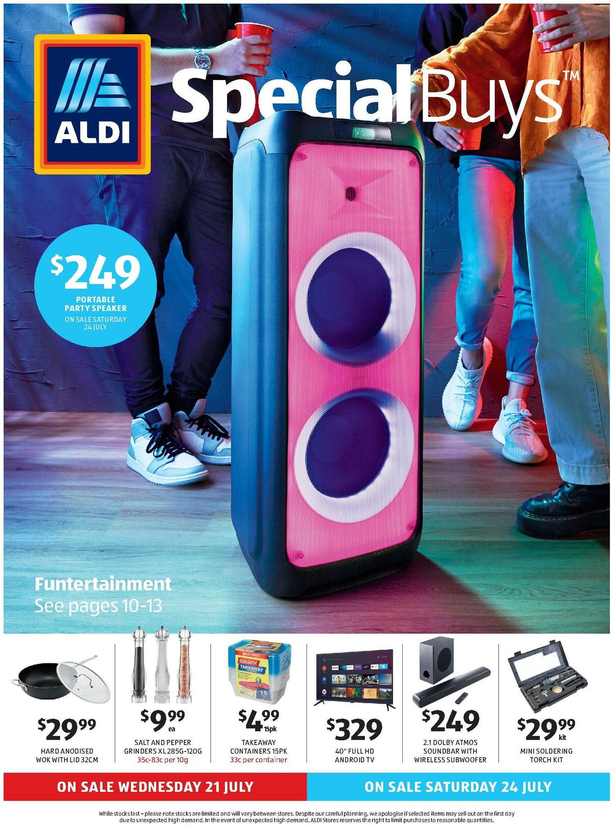 ALDI Catalogues from July 21