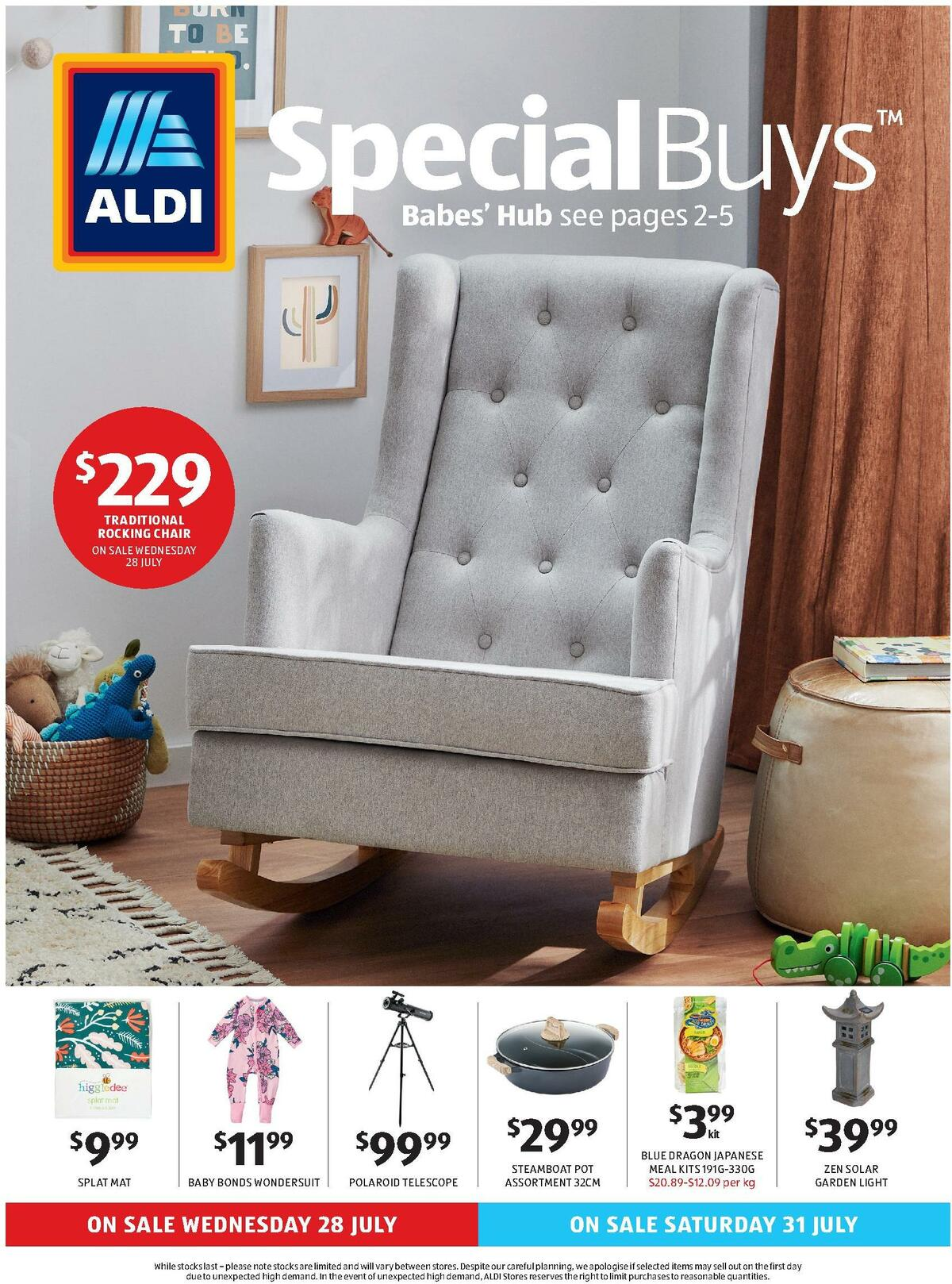 ALDI Catalogues from July 28