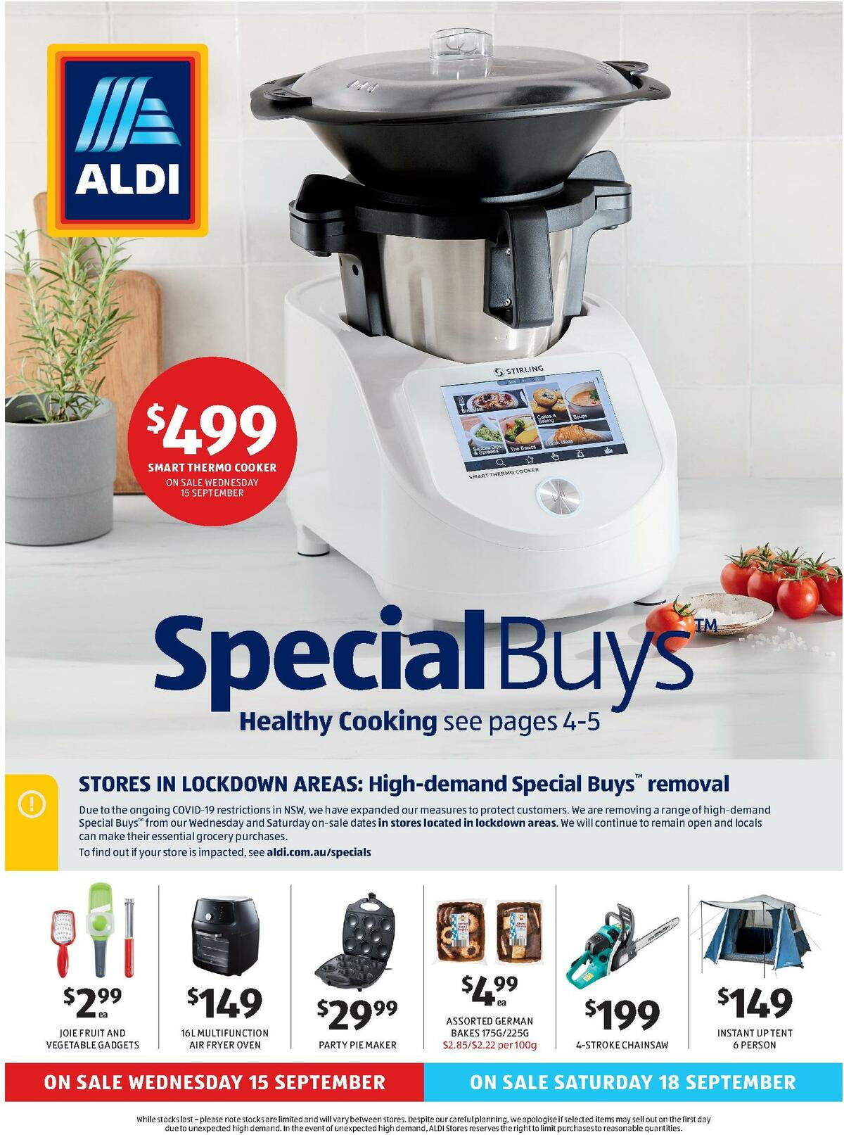 ALDI Catalogues from September 15