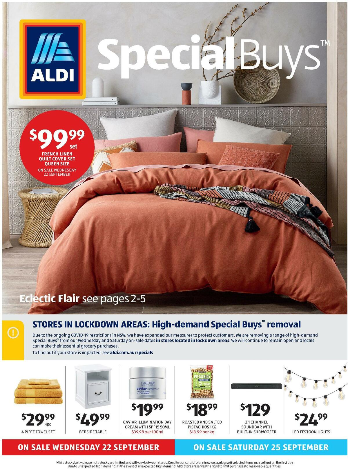 ALDI Catalogues from September 22