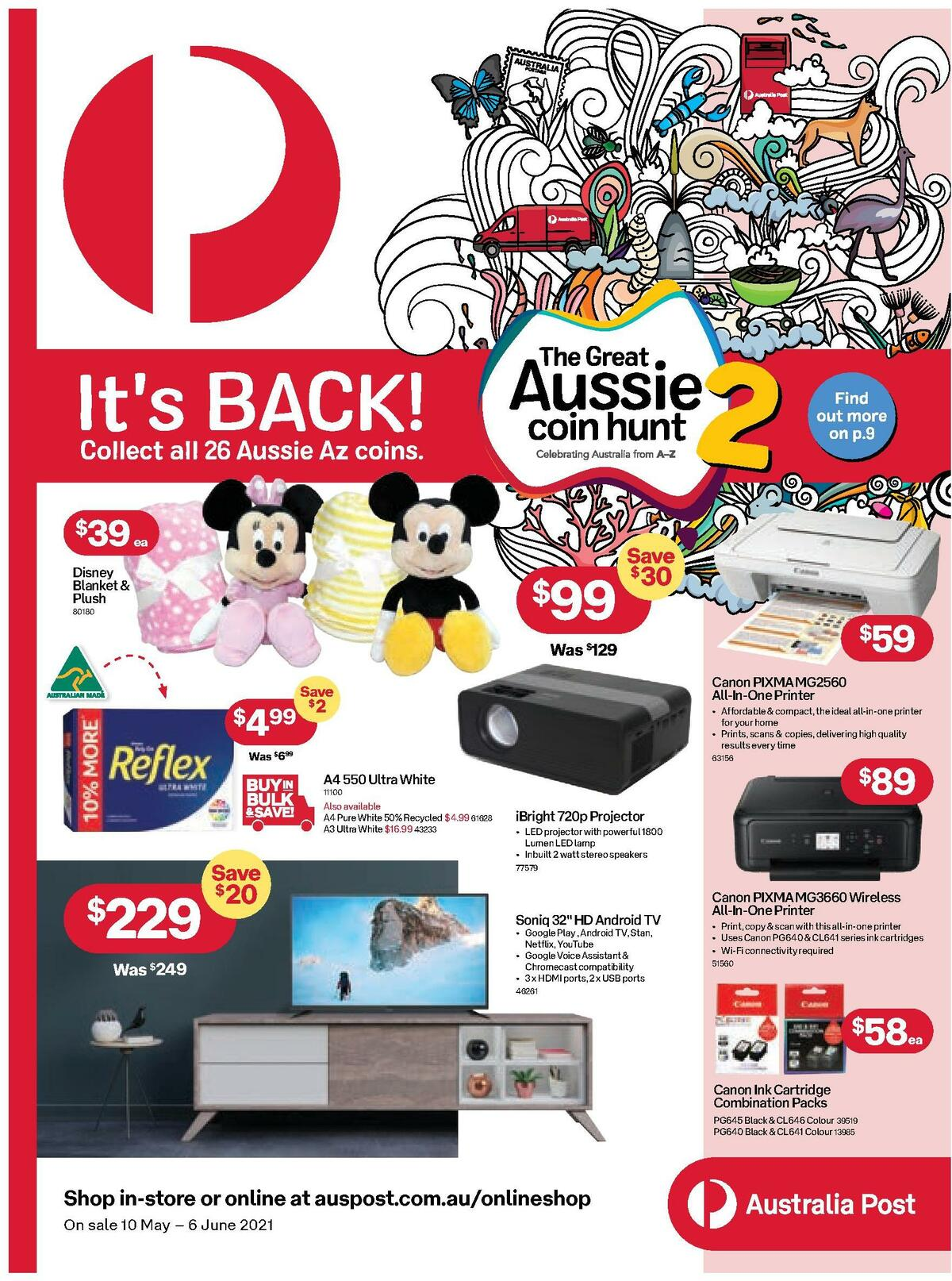Australia Post Catalogues from May 10