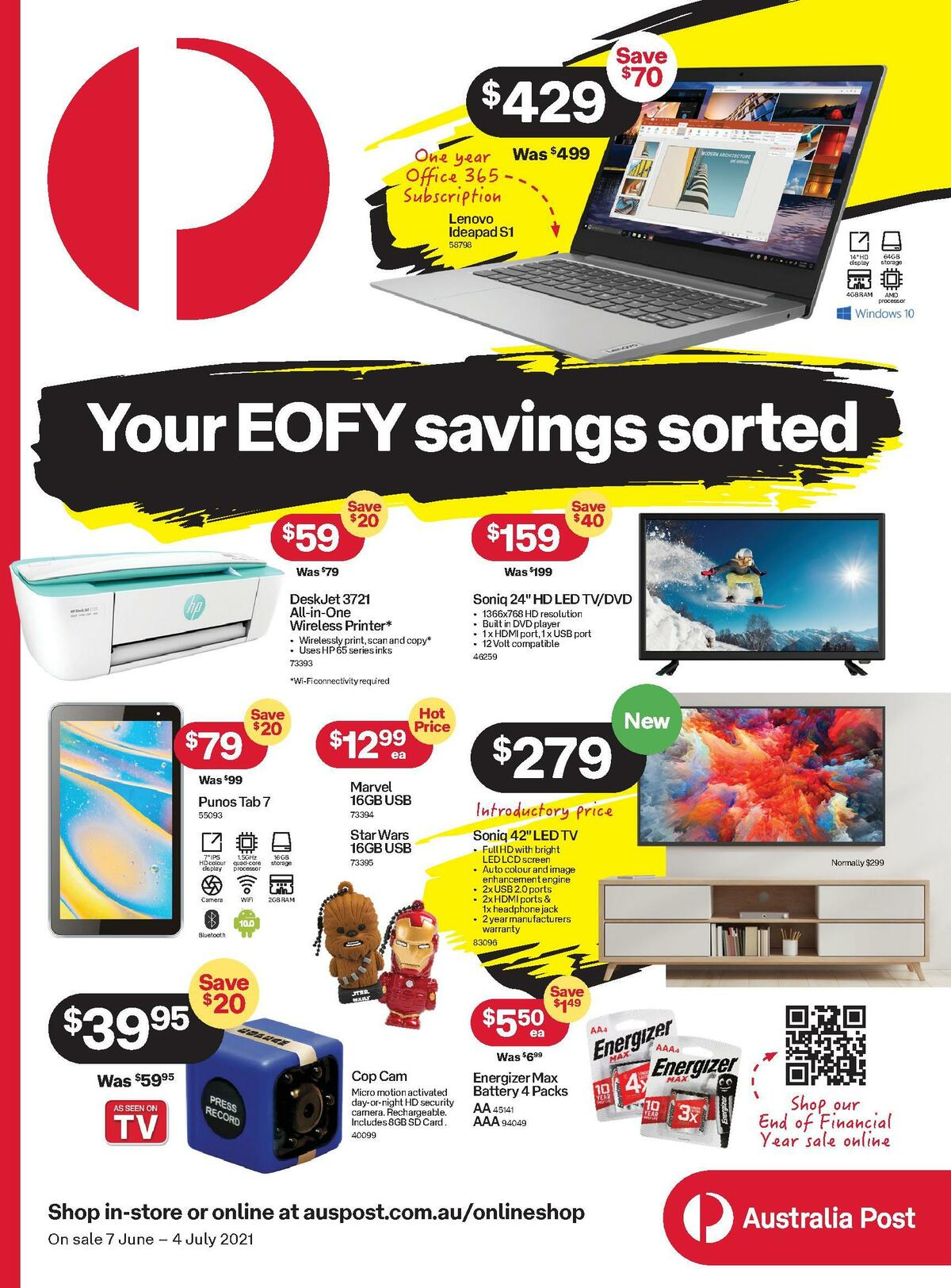 Australia Post Catalogues from June 7