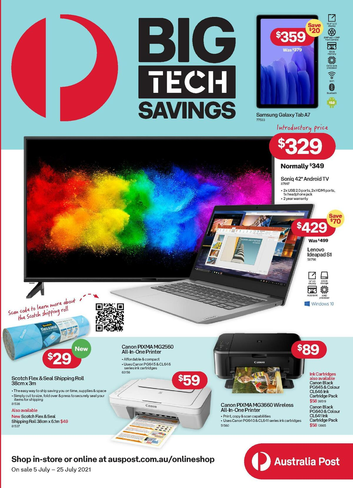 Australia Post Catalogues from July 5