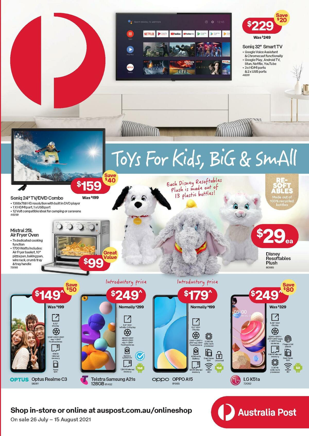 Australia Post Catalogues from July 26