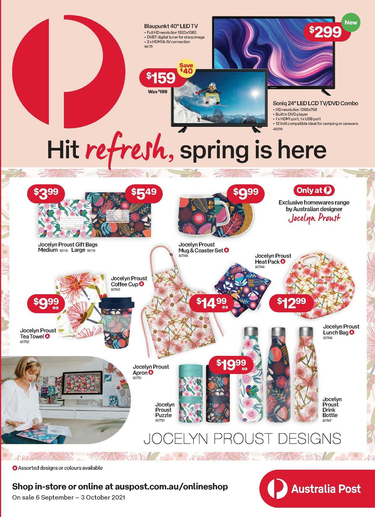 Australia Post Catalogues from September 6