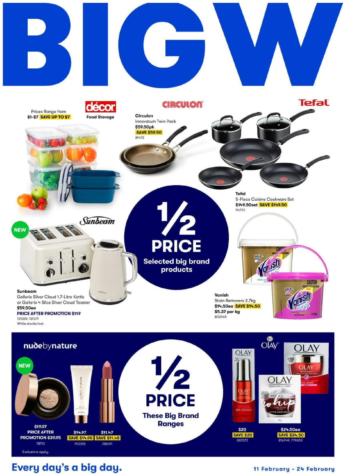 Big W Catalogues from February 11