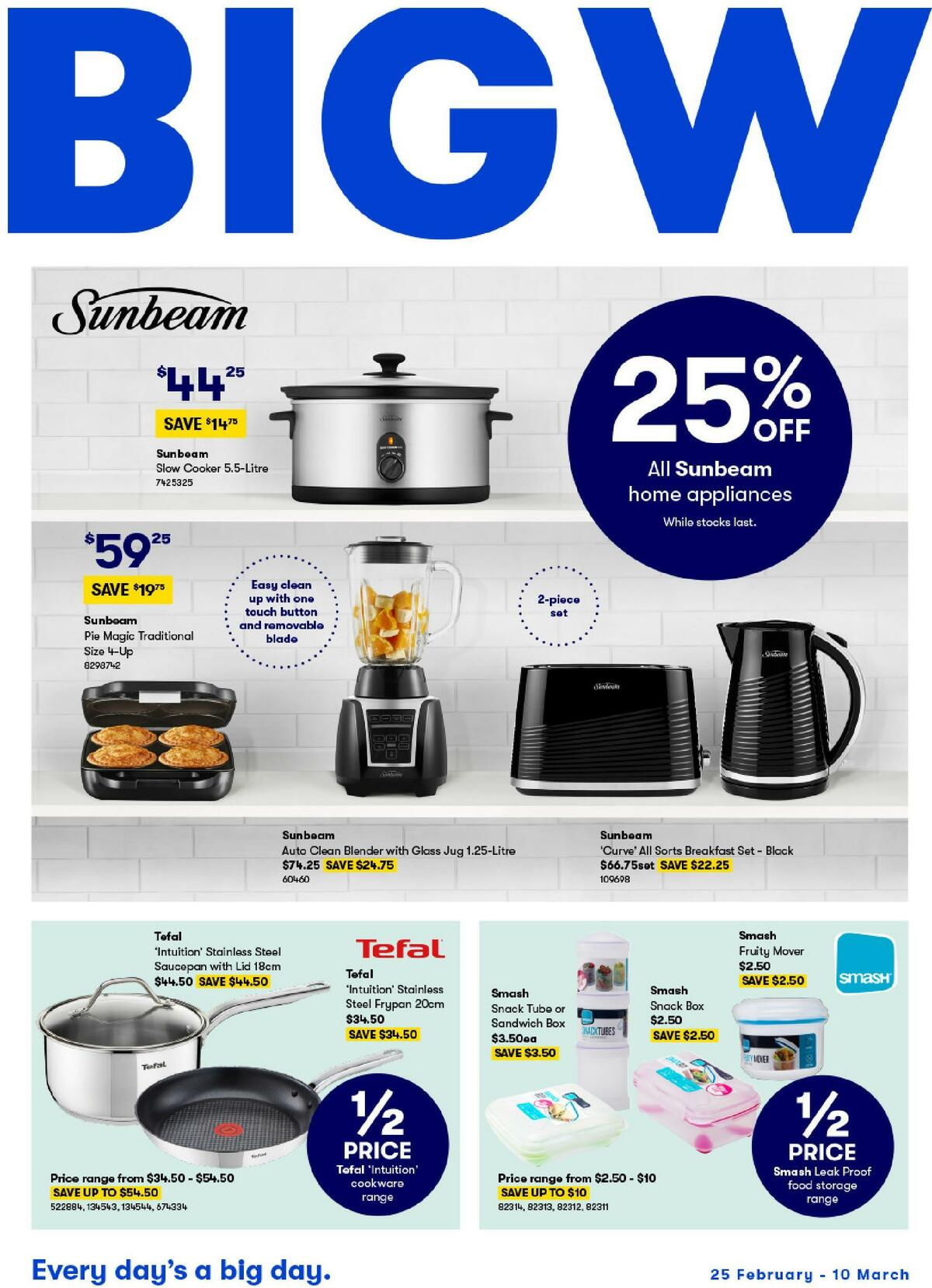 Big W Catalogues from February 25