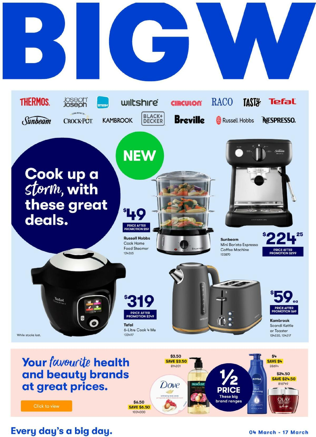 Big W Catalogues from March 4