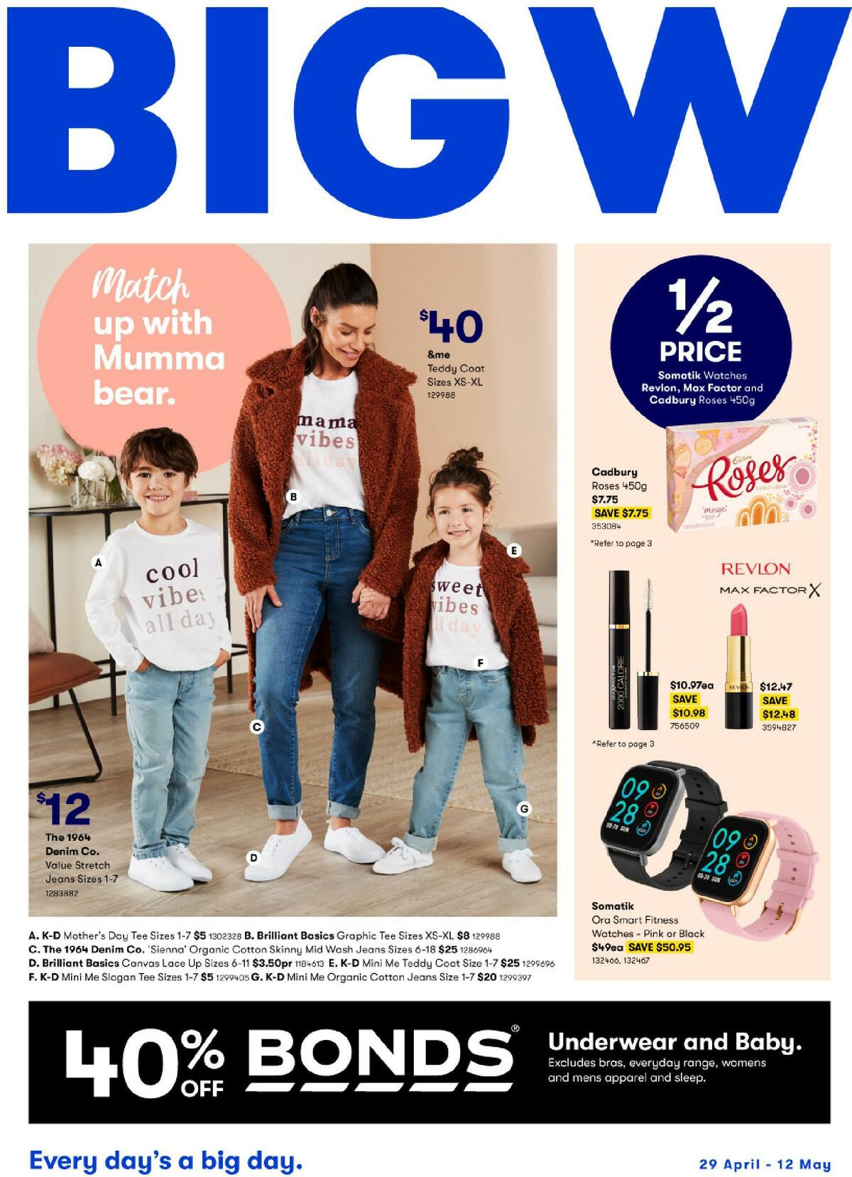 Big W Catalogues from April 29