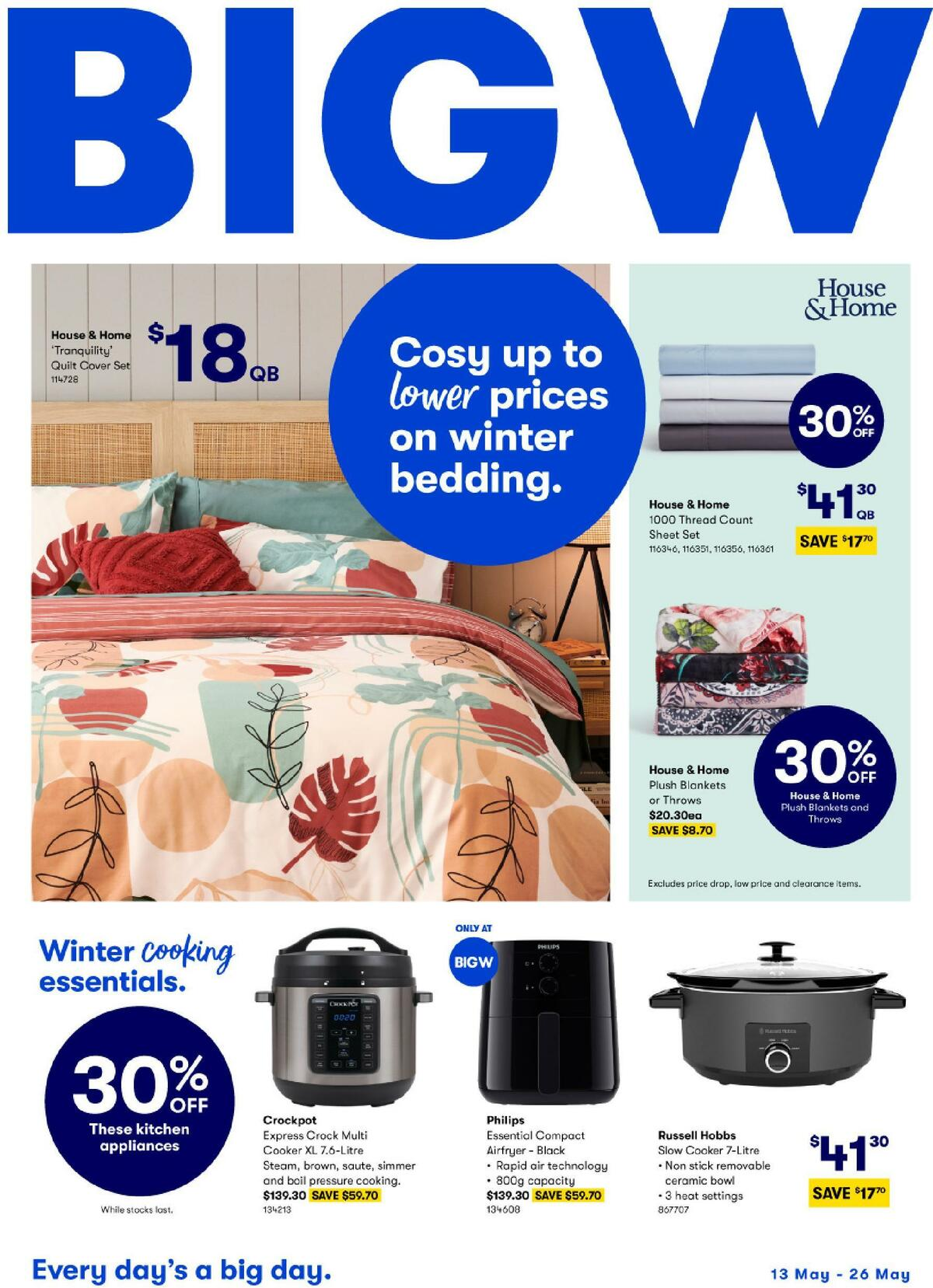 Big W Catalogues from May 13