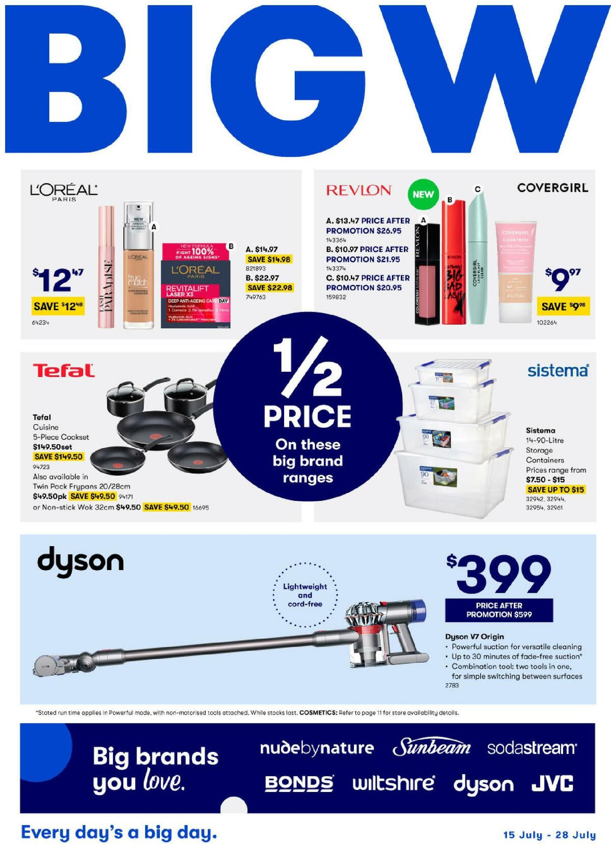 Big W Catalogues from July 15