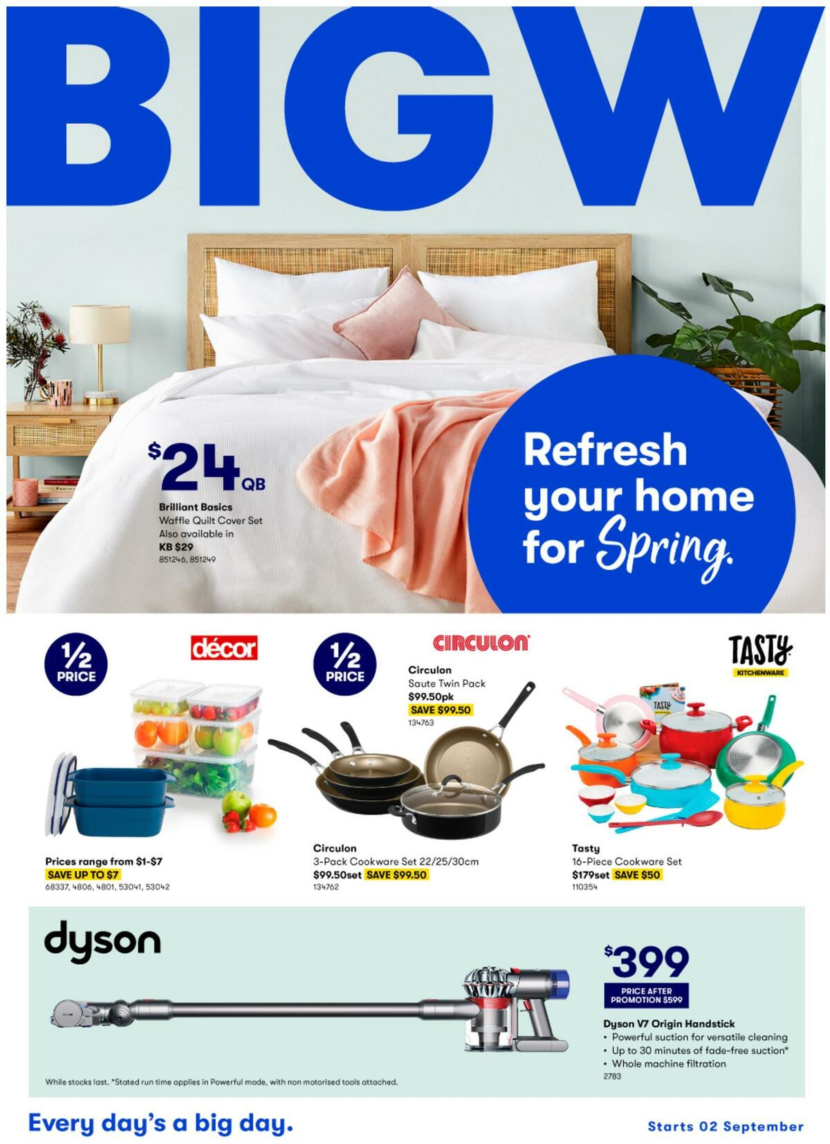 Big W Catalogues from September 2