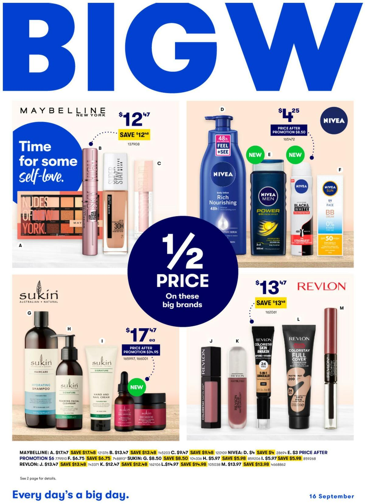 Big W Catalogues from September 16