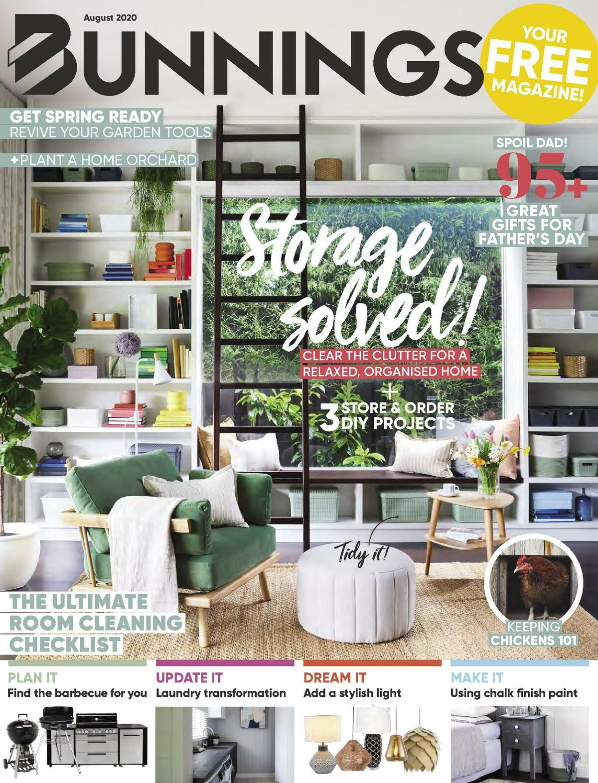 Bunnings Warehouse Catalogues from August 1