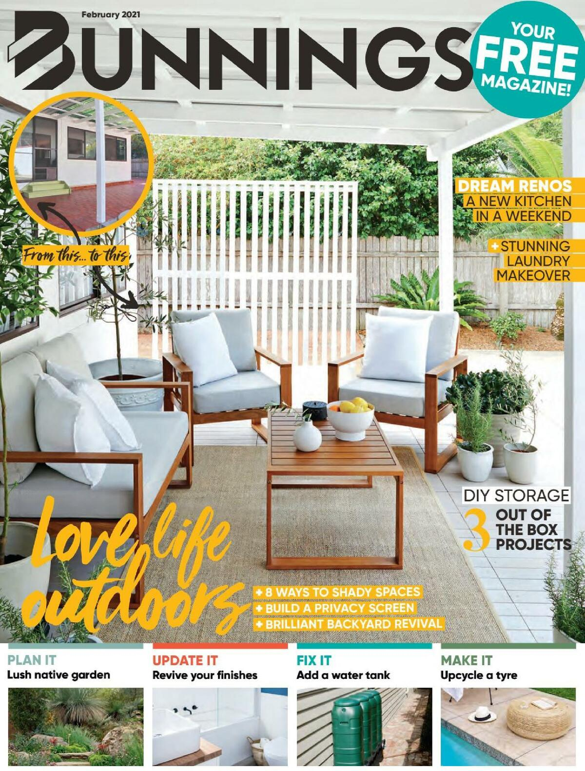 Bunnings Warehouse Catalogues from February 1