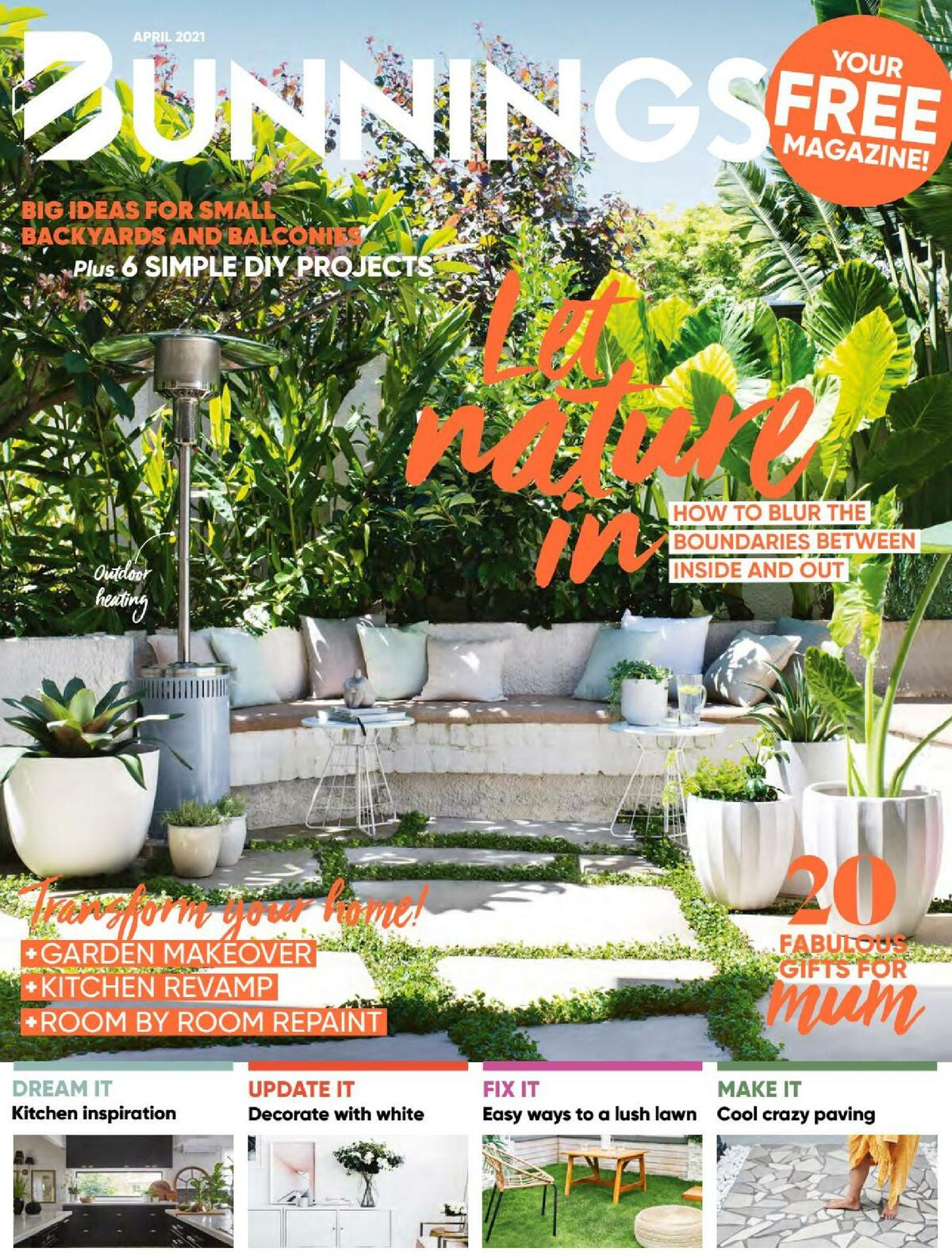 Bunnings Warehouse Catalogues from April 1