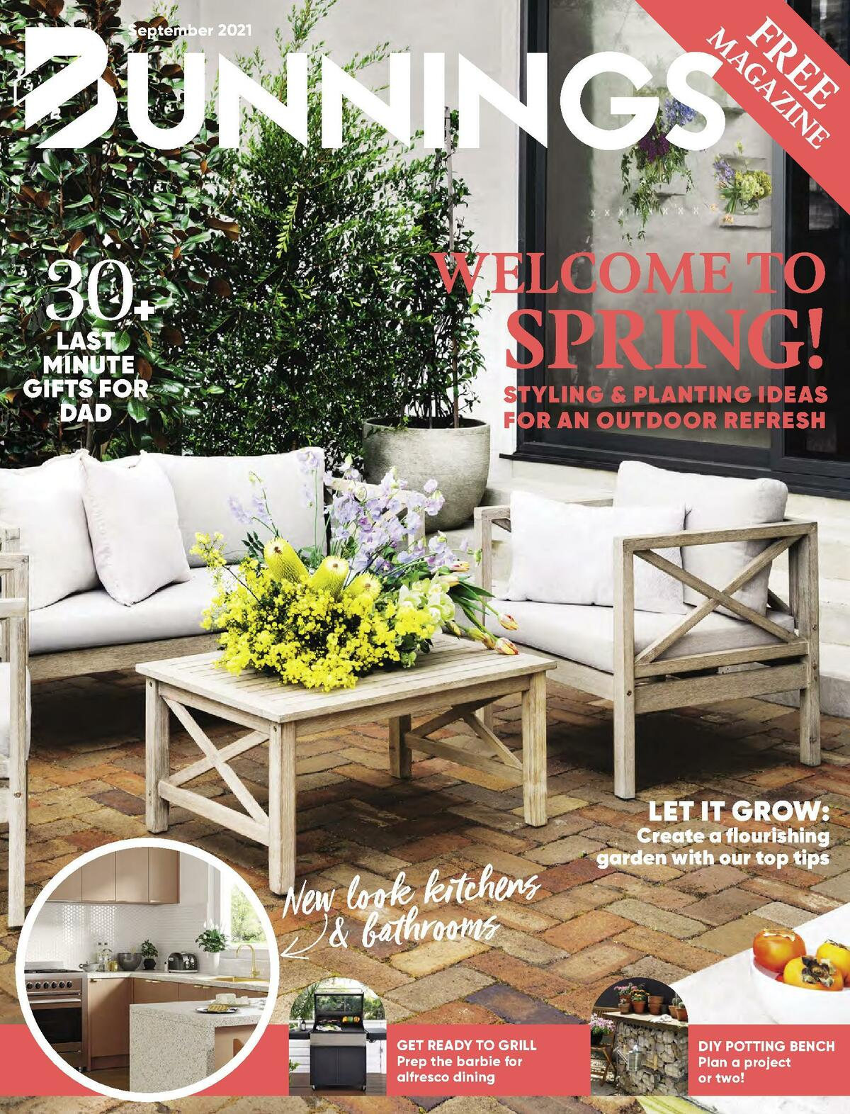 Bunnings Warehouse Catalogues from September 1