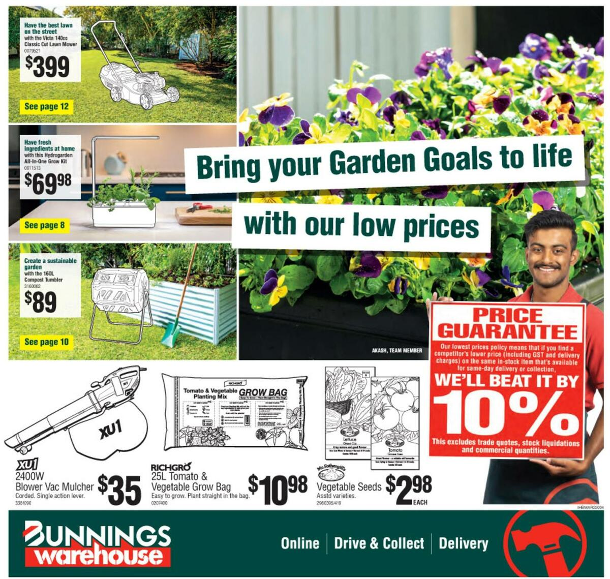 Bunnings Warehouse Catalogues from September 15