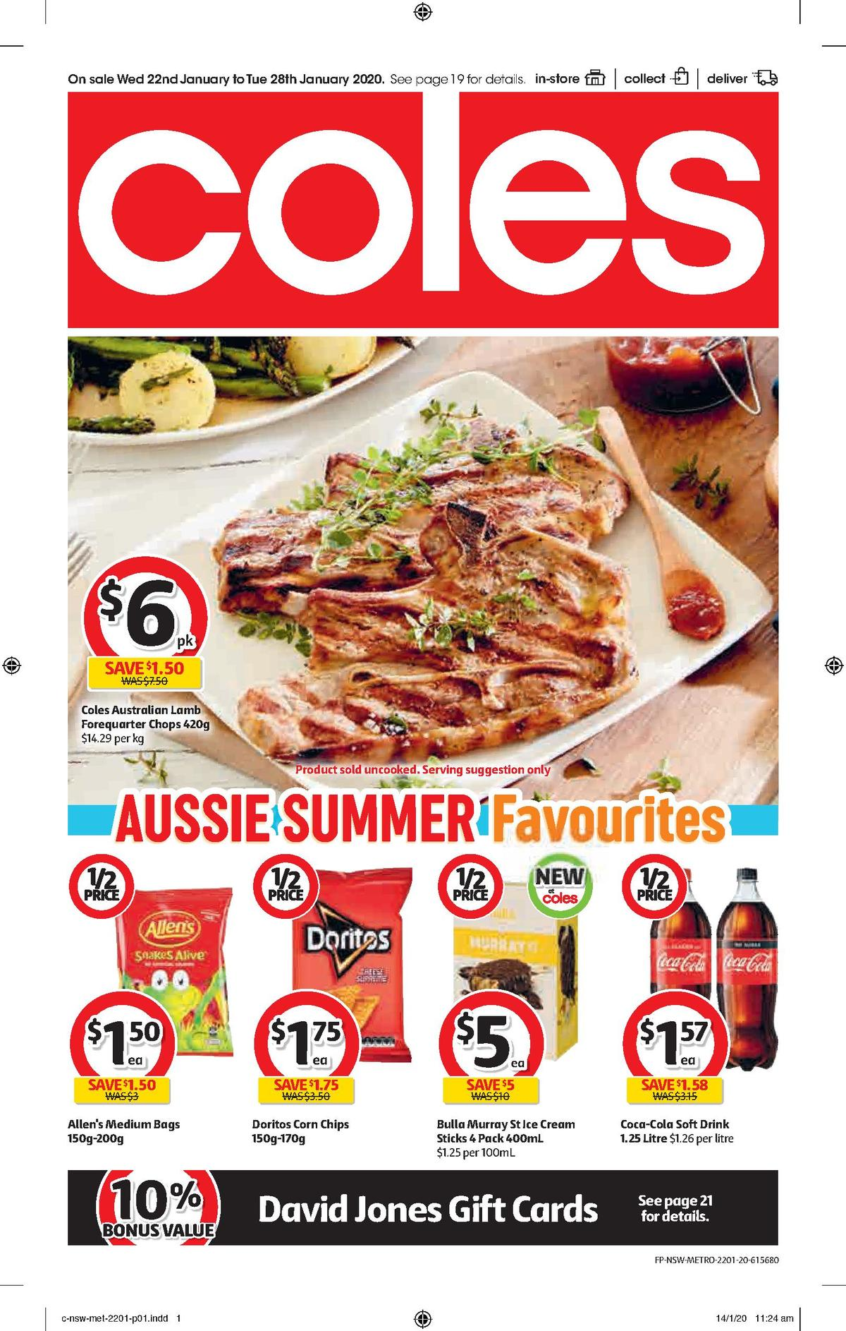 Coles Catalogues from January 22