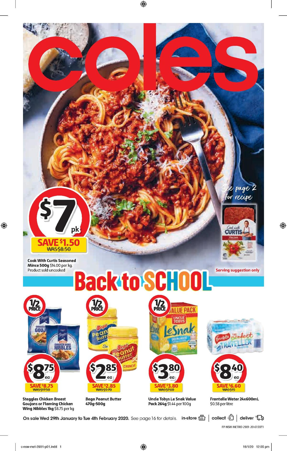 Coles Catalogues from January 29